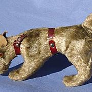 "antique Fripon Fox terrier salon dog French fashion doll Germany 5"""