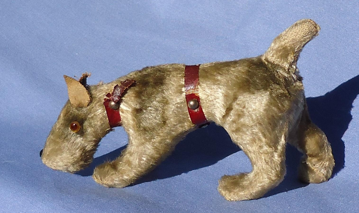 antique Fripon Fox terrier salon dog French fashion doll Germany 5""