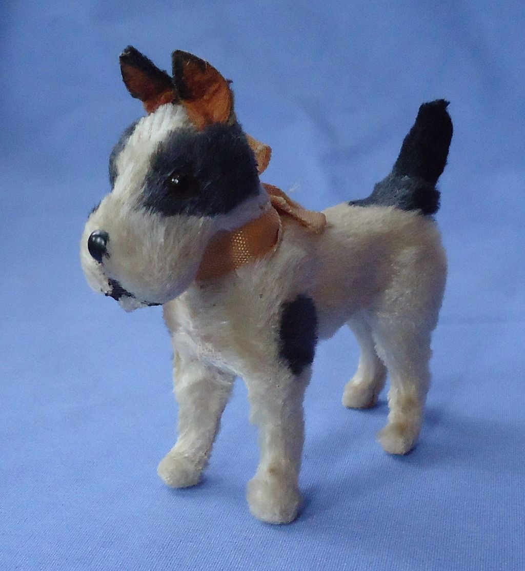 antique Fripon terrier French fashion doll Germany 4""