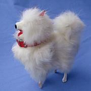 "5"" fur Spitz Pomeranian dog 4 French fashion doll"
