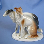 art deco Fasold&Stauch BORZOI Germany