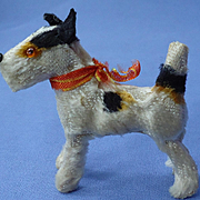 antique Fripon Fox terrier salon dog French fashion doll Germany 3""