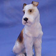 1950 Fox terrier Jack Russell Hutschenreuther Germany 5""