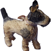 antique Fripon Fox terrier salon dog French fashion doll Germany label 2.5""