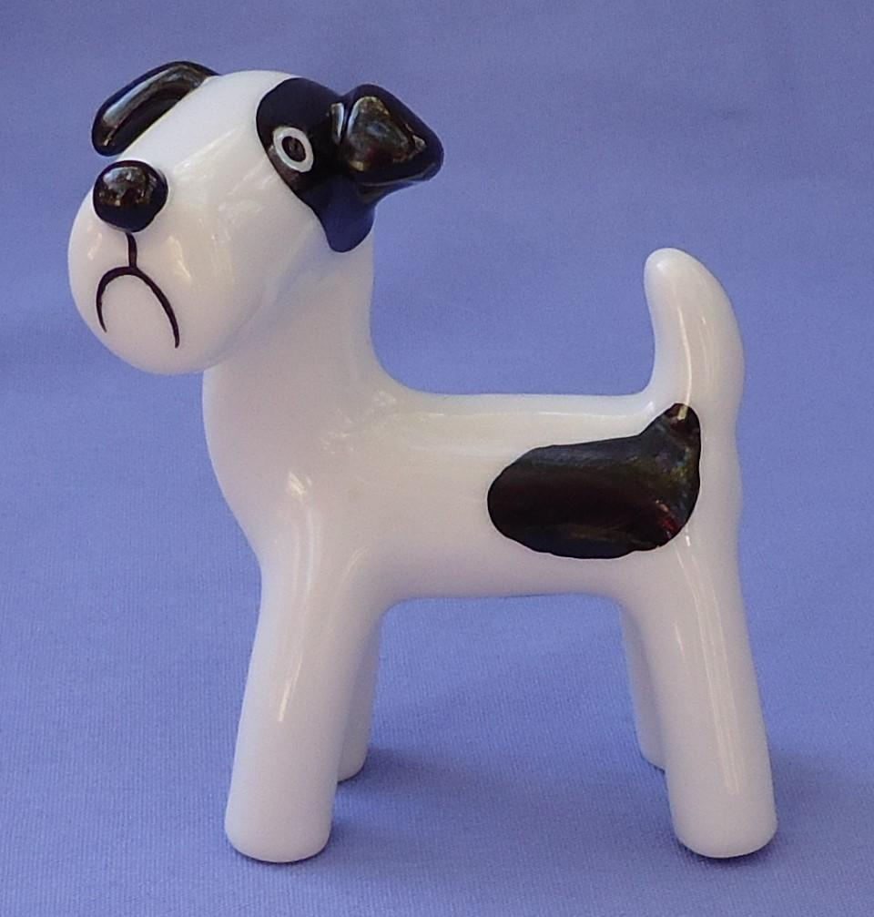 Jack Russell Fox terrier Schnauzer Bosse design dog Metzler Ortloff Germany 3""