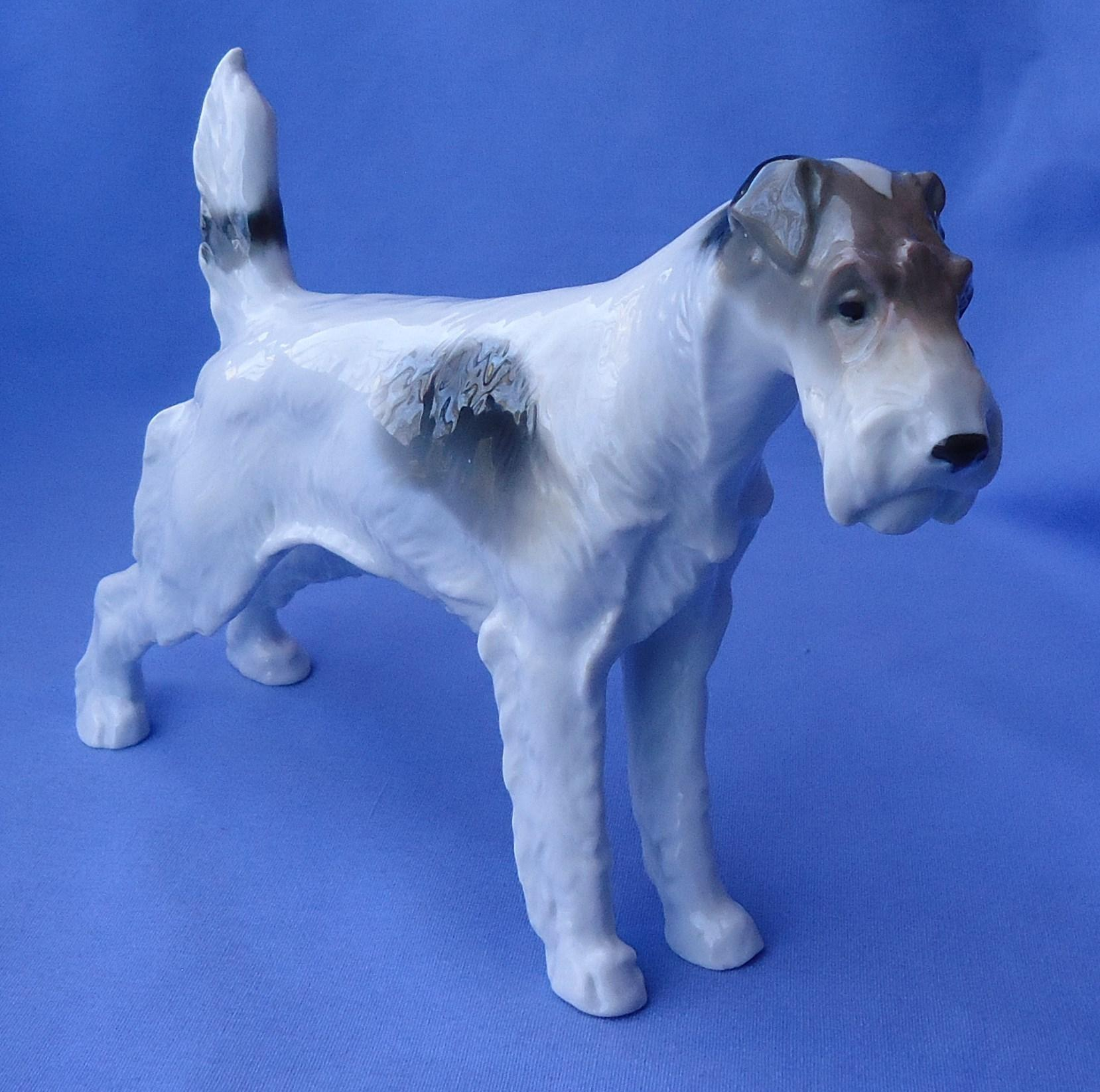 Fox Terrier Jack Russell Metzler Ortloff Germany 7""