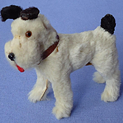 Fur Fox terrier Fripon salon dog French fashion doll Germany 3""