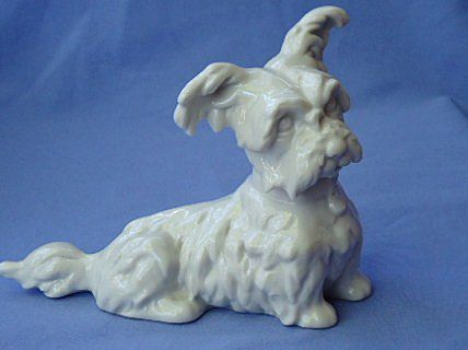 1950s Wessel Germany Skye silky terrier  6""