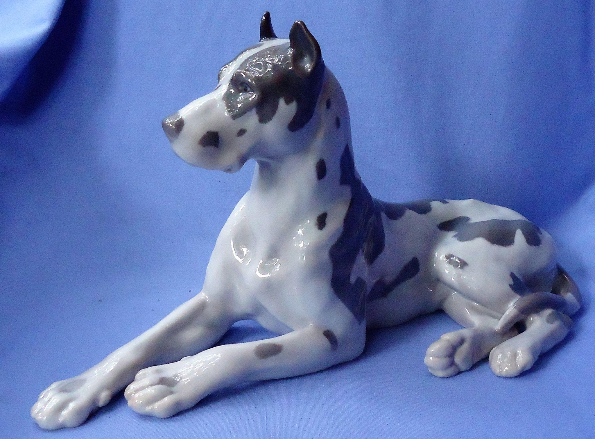vintage Great Dane Bing & Grondahl Denmark 12""