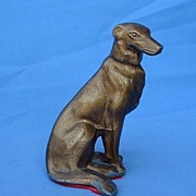 1940s Gotha Pfeffer  Borzoi Germany metal copy
