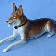 ..1920s German Shepherd  Gotha Pfeffer Germany 9""