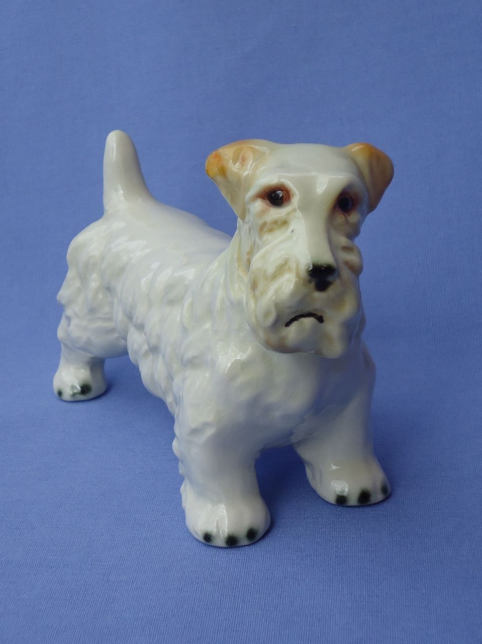 vintage Sealyham terrier Goebel Germany 6""