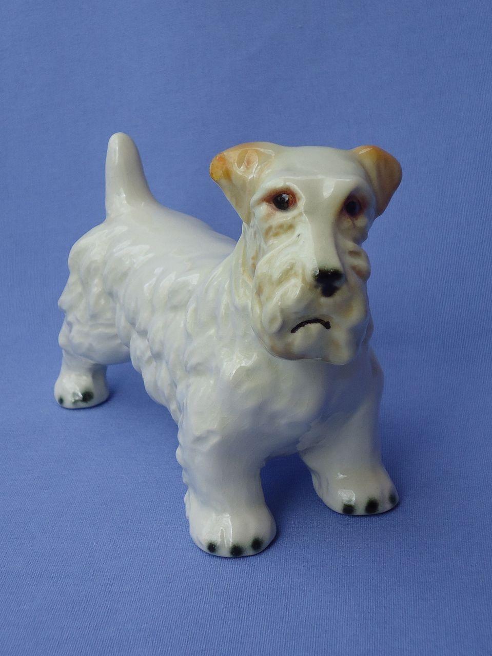 """vintage Sealyham terrier Goebel Germany 6"""""""