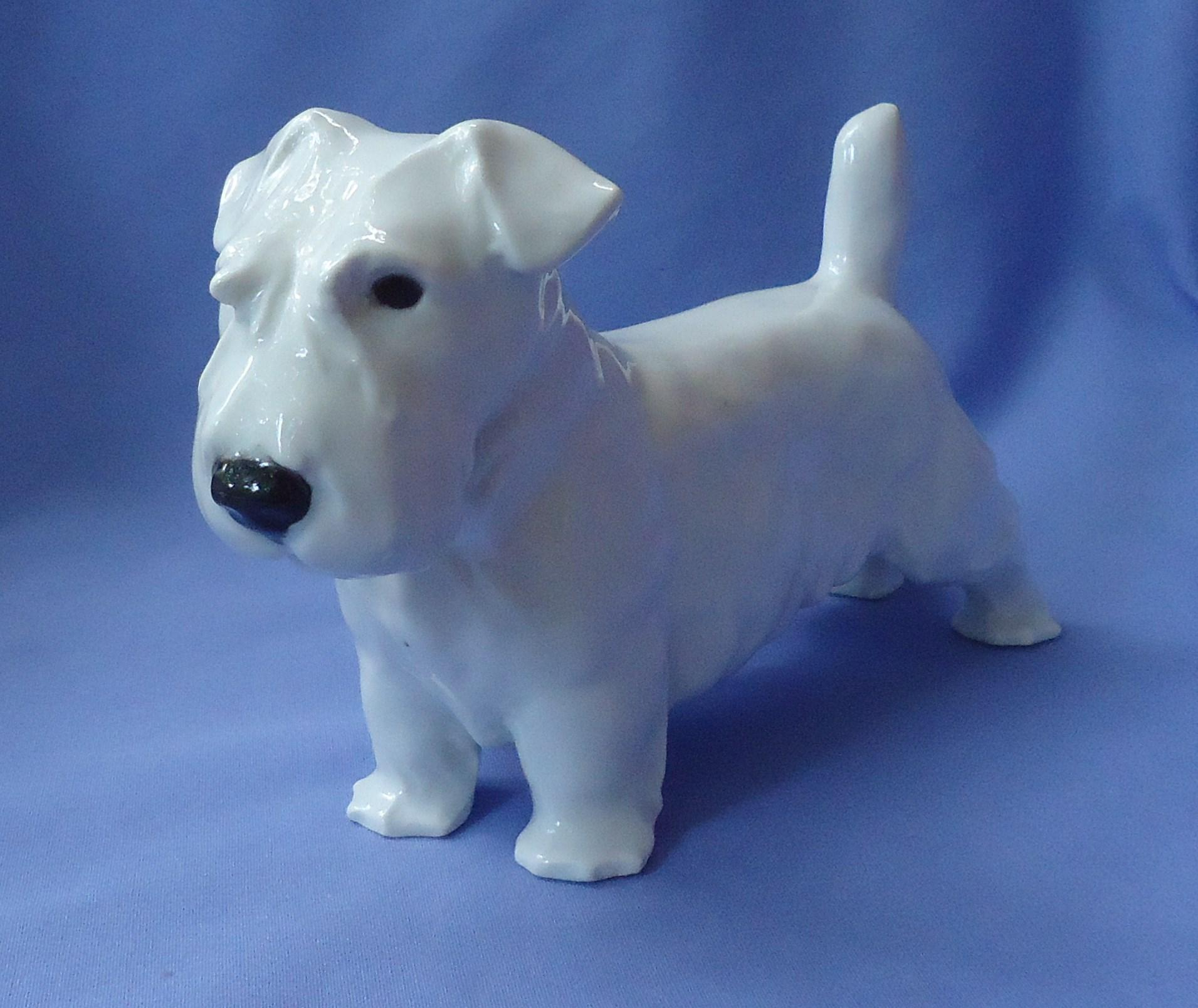 1930s Sealyham Cesky terrier Gotha Pfeffer Germany 8""