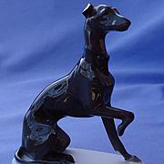 1930s Whippet Italian Greyhound dog Rosenthal Germany