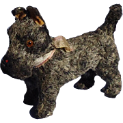 Grey Scottish terrier salon dog Germany French fashion doll 4""