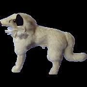 "German fur Borzoi for French fashion doll label 4"""