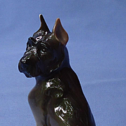 1930 Giant Schnauzer  Rosenthal Germany 5""