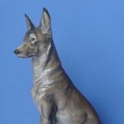 "1940 Rosenthal German shepherd Alsatian Diller 9"""