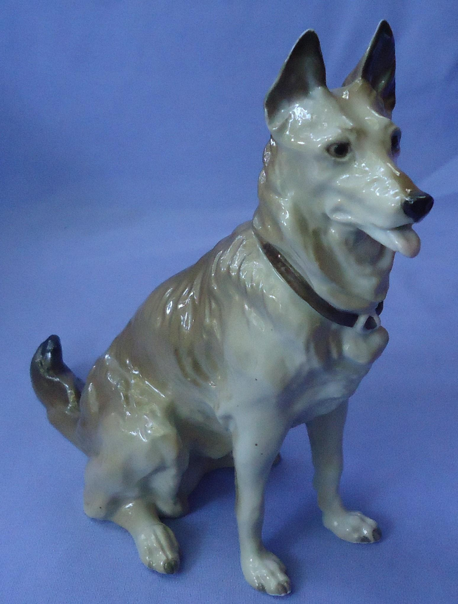 1930s German Shepherd Alsatian dog Schierholz Germany 8""