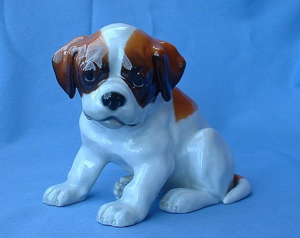 "Saint Bernard Heubach Germany puppy 6"" Newfoundland"