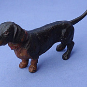 black tan Dachshund Heyde Germany 6""