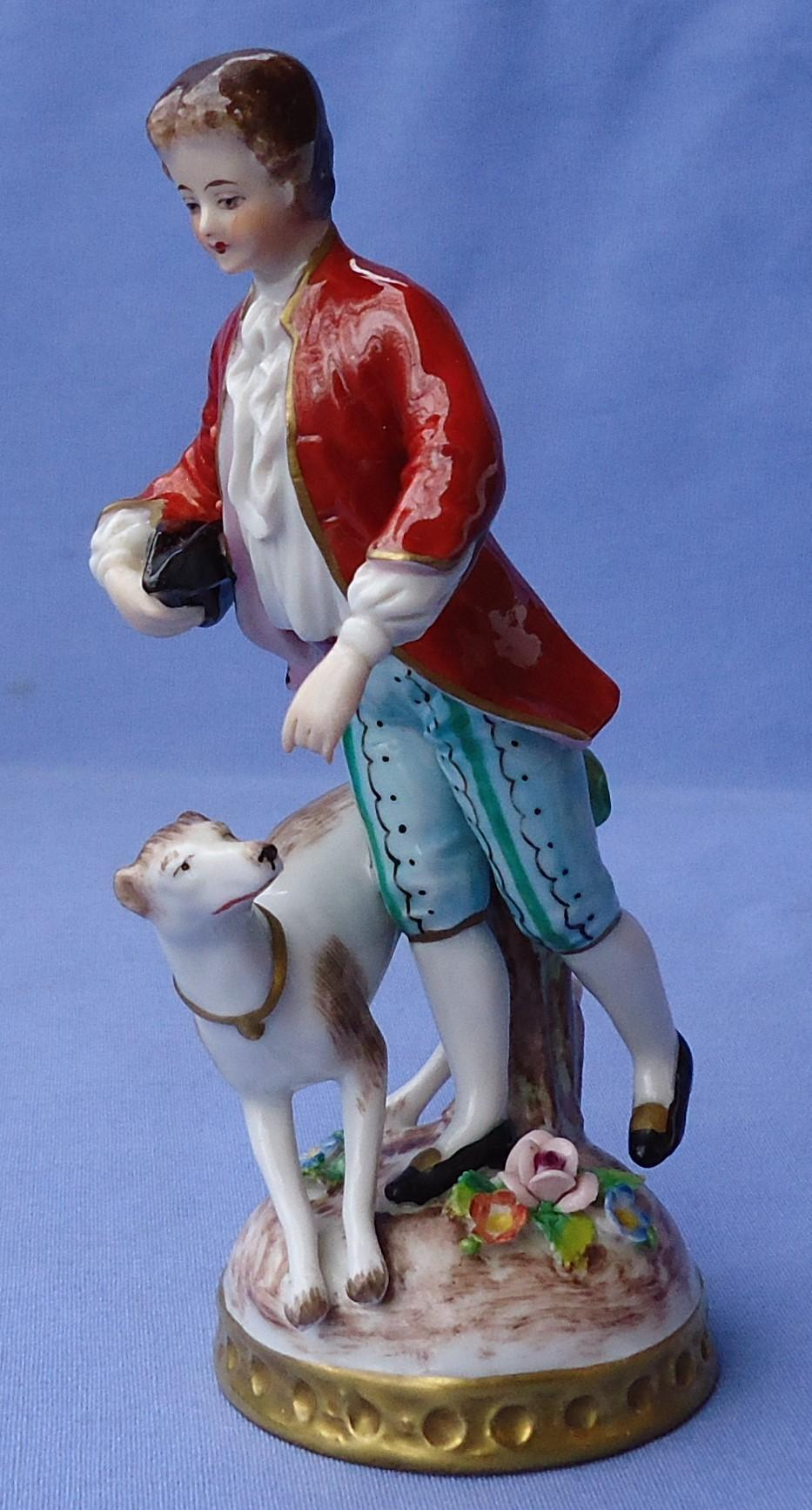 "Whippet Italian Greyhound dog and boy  Germany 5"""