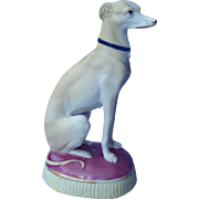 """antique bisque Whippet Italian Greyhound dog 6"""""""
