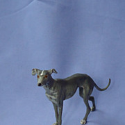 metal Italian greyhound whippet Germany 5""