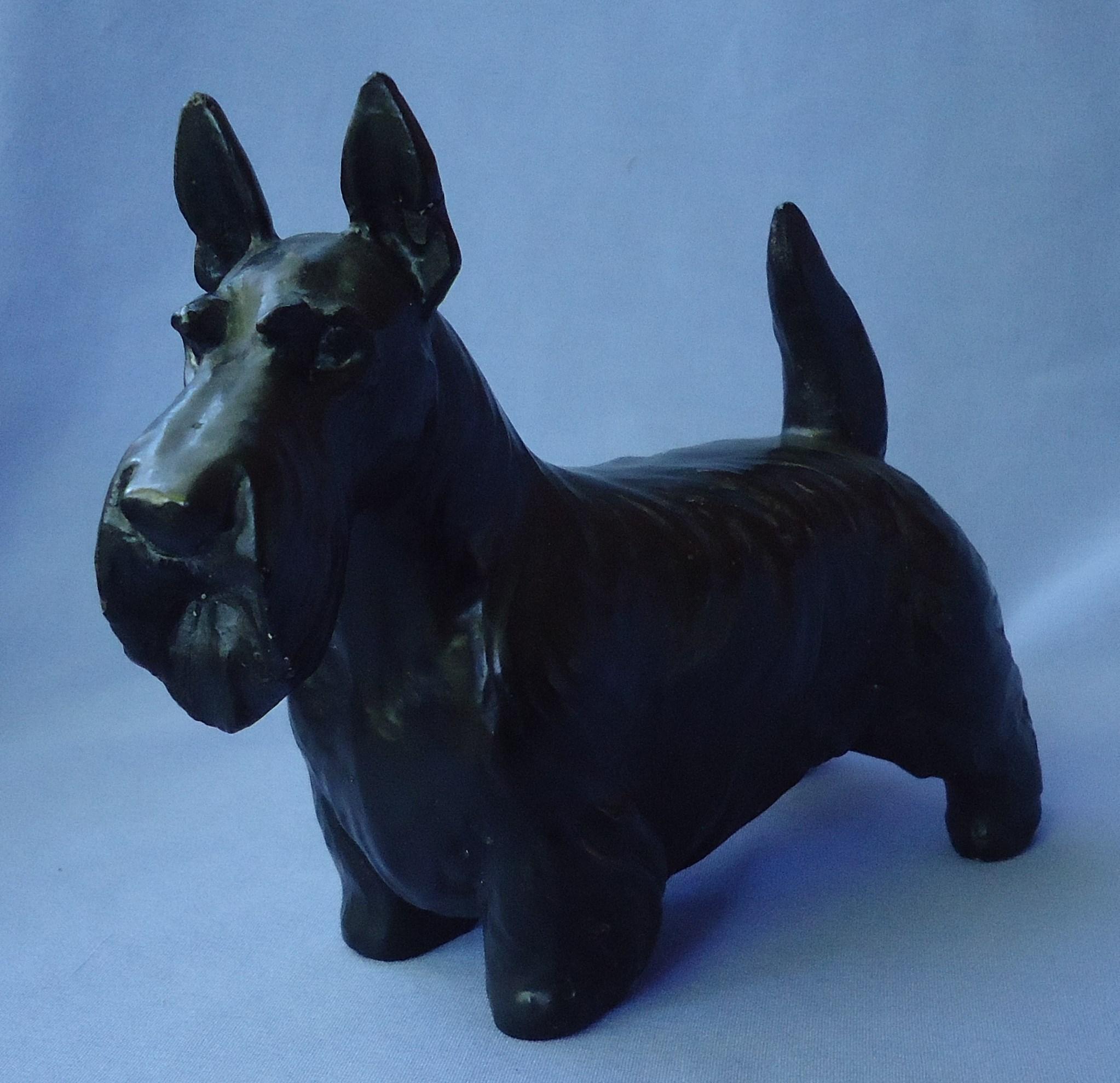 "1940s Scottish terrier Jan Allan 7"""