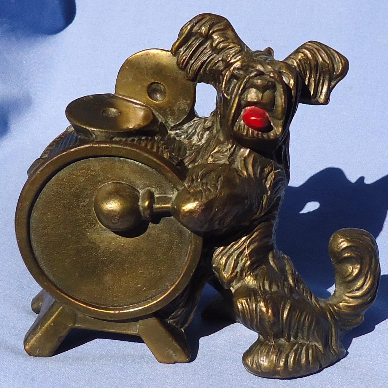 "1940s Skye Silky terrier Briard dog K&O 5"""