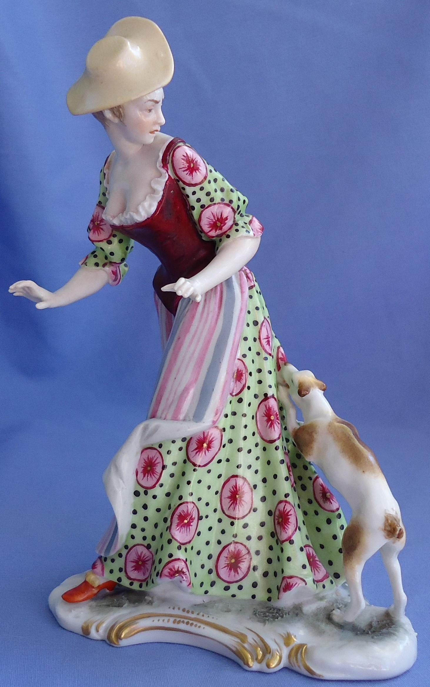Bustelli lady rat fox Jack Russell  terrier dog Germany 7""