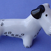 art deco Bosse Sealyham Fox terrier Metzler Ortloff Germany 4""
