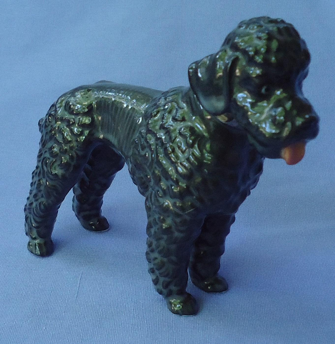 1950 grey Poodle Metzler Ortloff Germany MO 4""