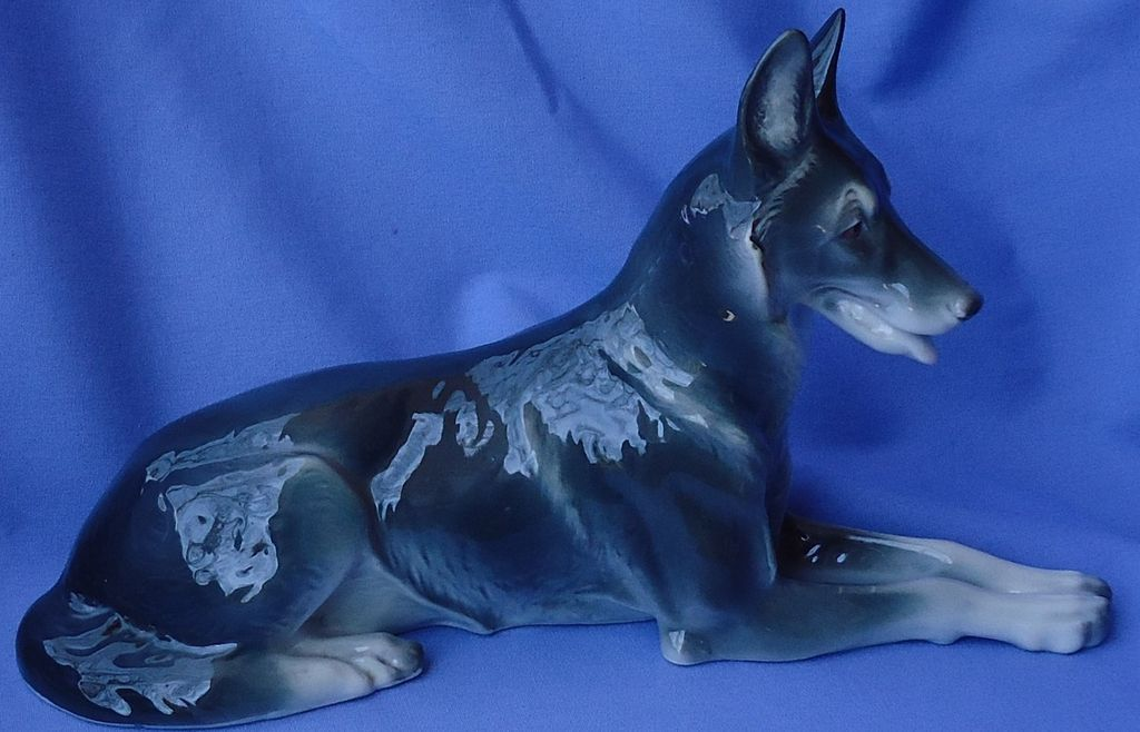 Metzler Ortloff German shepherd Germany 10""