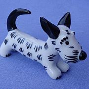 "Scottish Terrier Walter Bosse Scotty dog Metzler Ortloff Germany 2"""