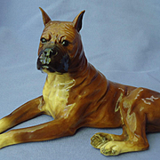 Boxer dog Mortens Studio 8""