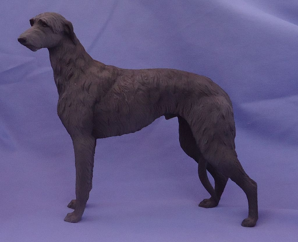 1986 Scottish deerhound Irish wolfhound 9""