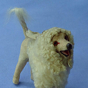 antique Poodle salon dog French fashion doll Germany