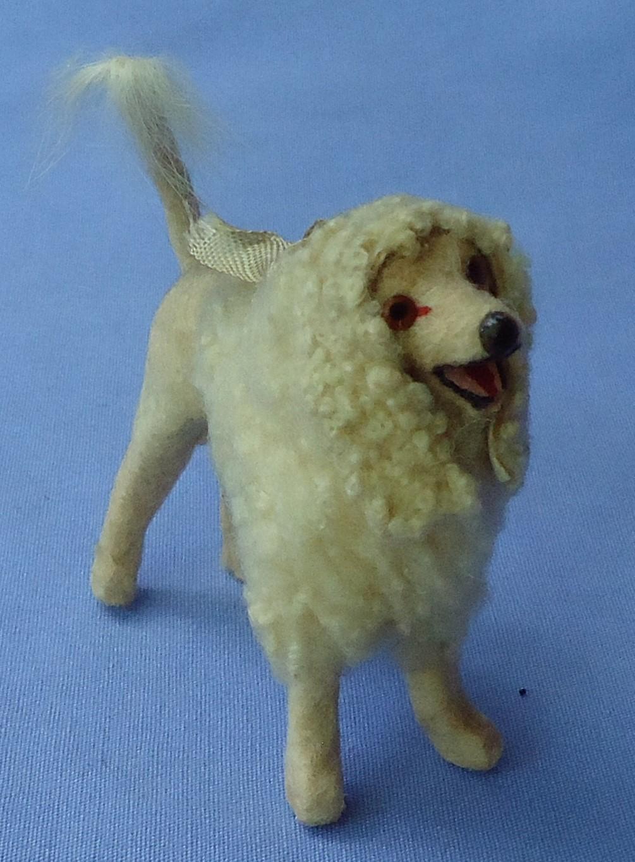 antique Poodle salon dog French fashion doll Germany