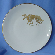 art deco  Borzoi Saluki Germany 8""