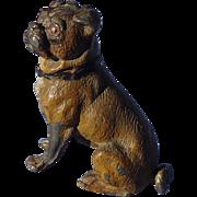 antique Pug dog Heyde Germany