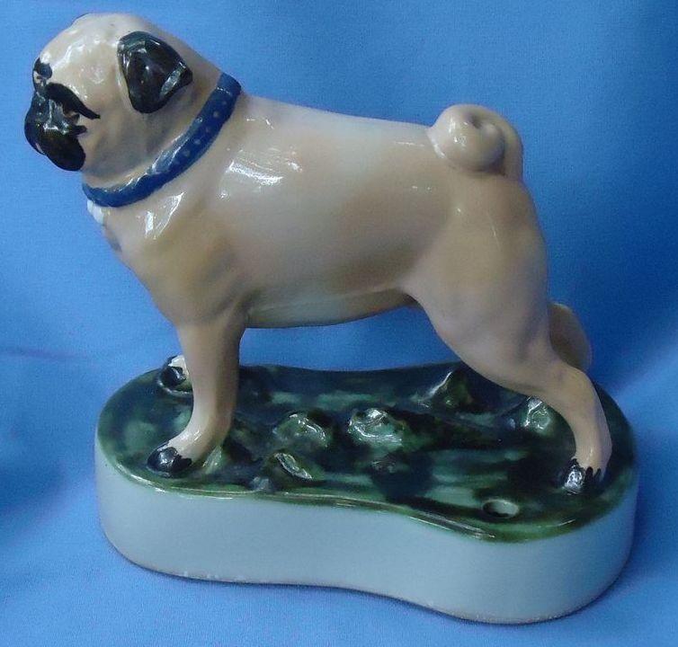 "Louisville stoneware Pug 6"""