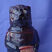 "8"" pug mug Germany stein"