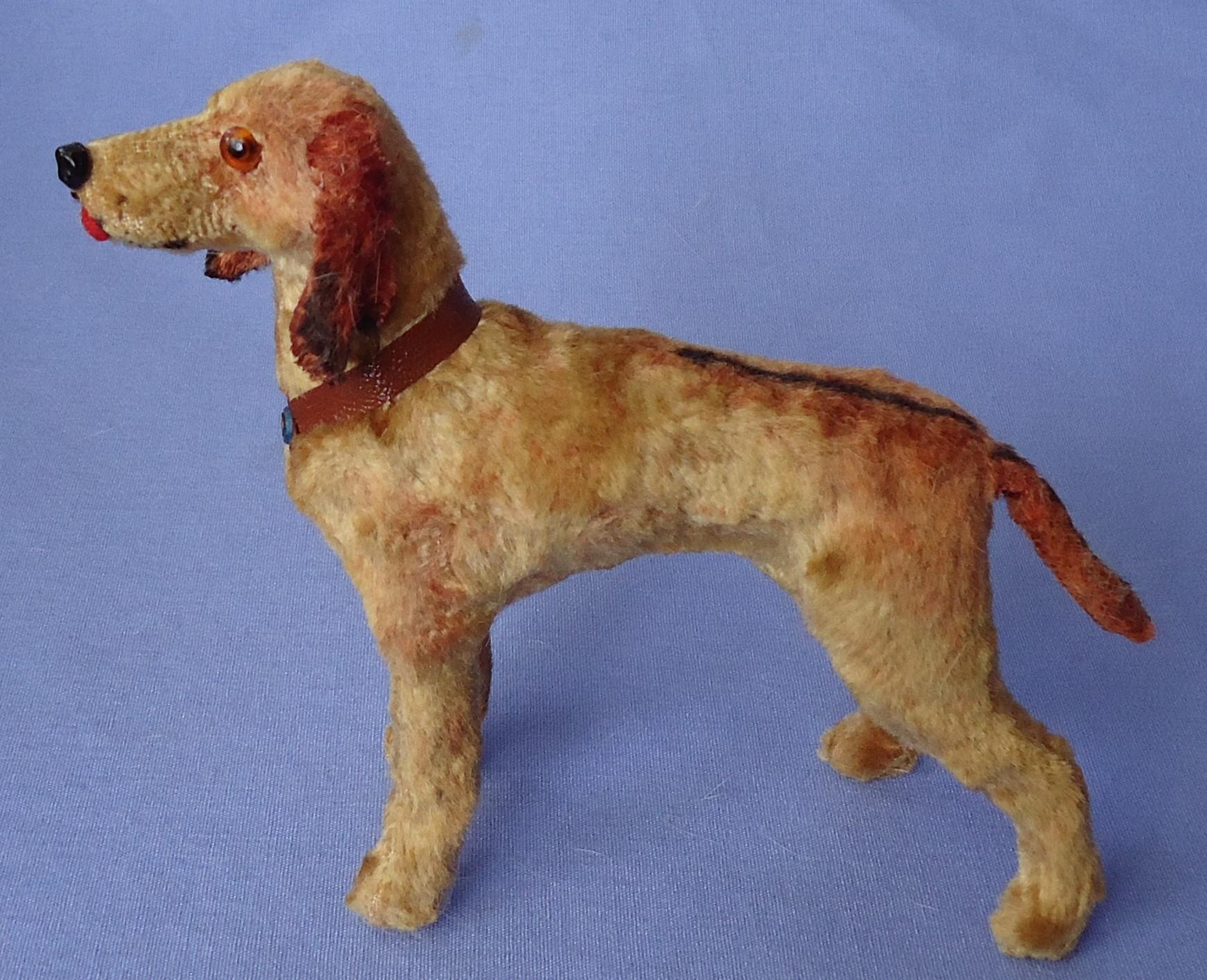 "antique Rhodesian Ridgeback salon dog Germany French fashion doll 6"""