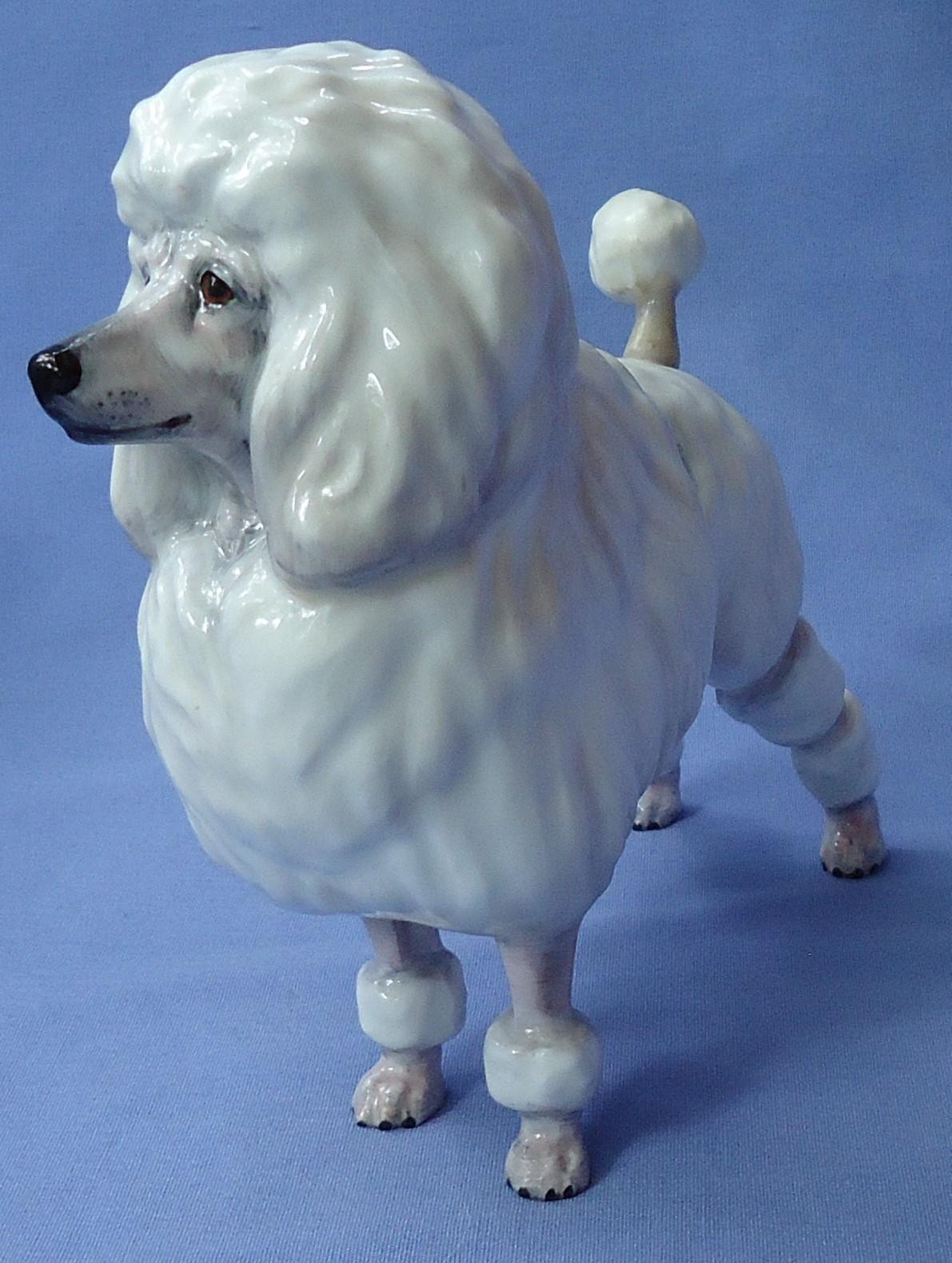 1960s French Poodle Royal Doulton England