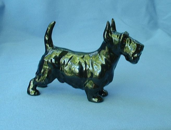 Royal Doulton Scottish terrier black Scotty dog  5""