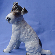 1930 Rosenthal Fox terrier Jack Russell Germany 7""