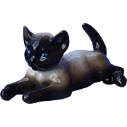 "Siamese kitten Rosenthal Germany cat 5"""