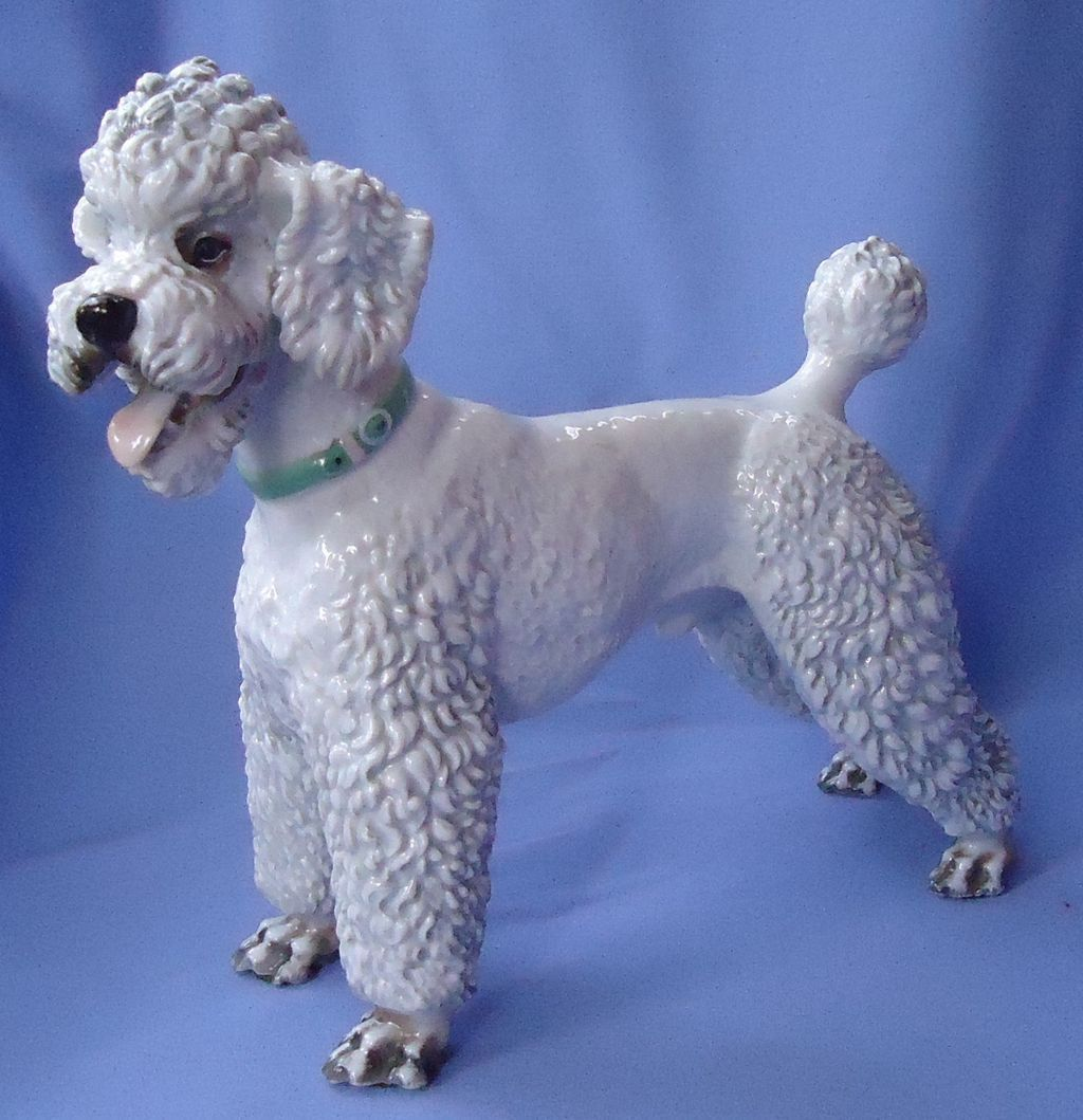 rare  Rosenthal 1930s  Poodle 10""